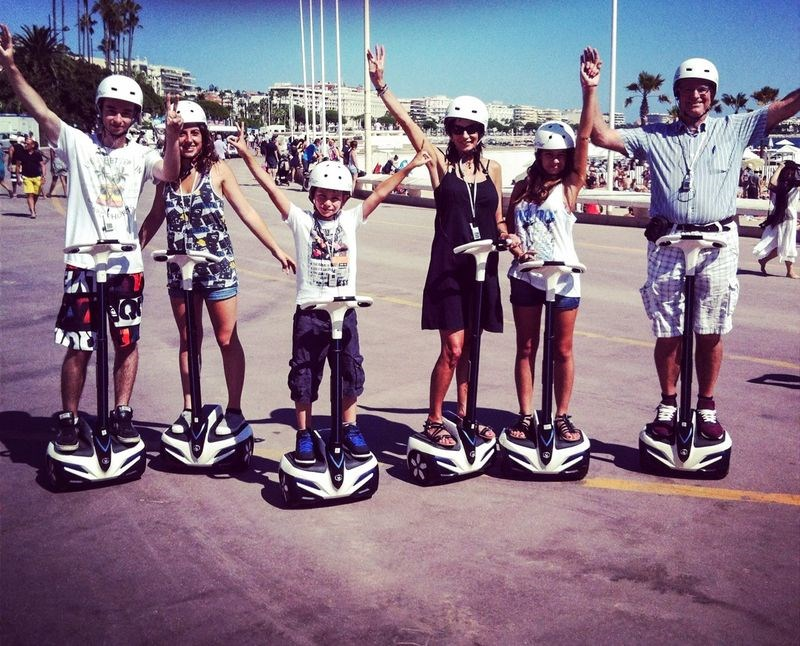cannesvisitour - gyropod tour 2h00 (from 8 years old) in cannes