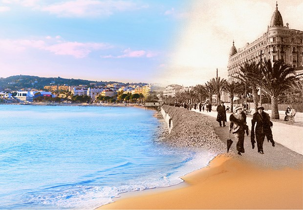 guided tour of la croisette in english in cannes