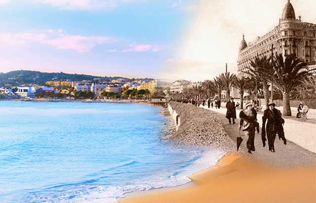 GUIDED TOUR OF LA CROISETTE IN FRENCH IN CANNES