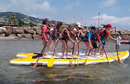 CANNES JEUNESSE - BIG PADDLE RENTAL IN CANNES