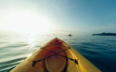 KAYAK EXCURSION (RENTAL DURING : 07h00) IN CANNES