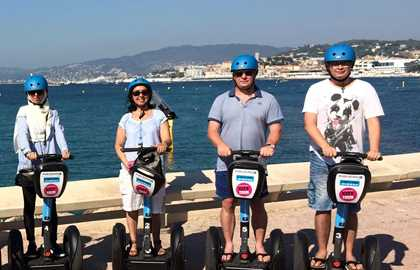 MOBILBOARD CANNES - PRIVATE SEGWAY TOUR 2H00