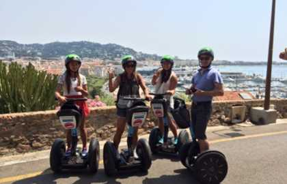 CANNES SEGWAY TOUR 2H00 IN CANNES