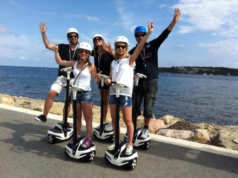 CANNESVISITOUR - GYROPOD TOUR 1H00 (from 8 years old) IN CANNES