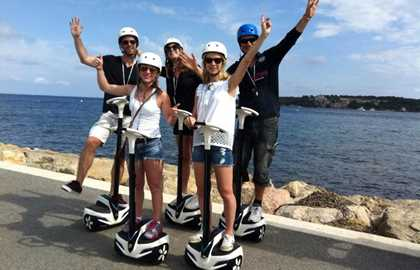 CANNESVISITOUR - GYROPOD TOUR 1H00 (from 12 years old) IN CANNES