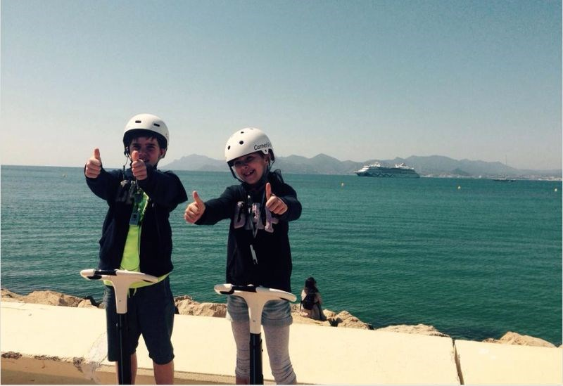 CANNESVISITOUR - GYROPOD TOUR 30 MIN (from 8 years old) IN CANNES