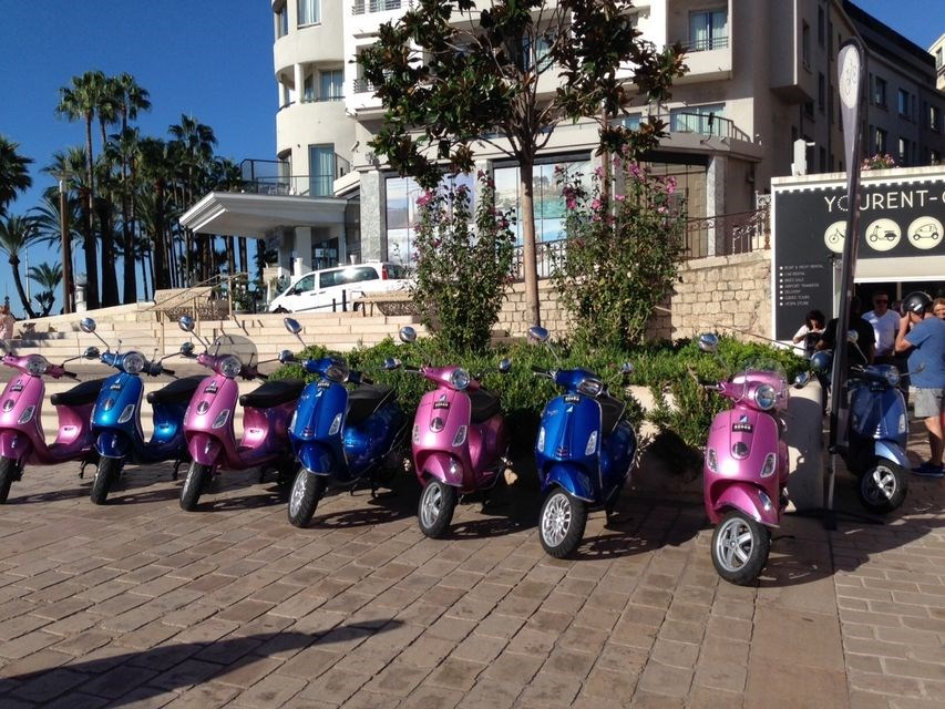 VESPA RENTAL IN CANNES - 1 DAY