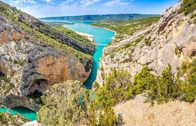 panoramic flight around the gorges du verdon - 1hour