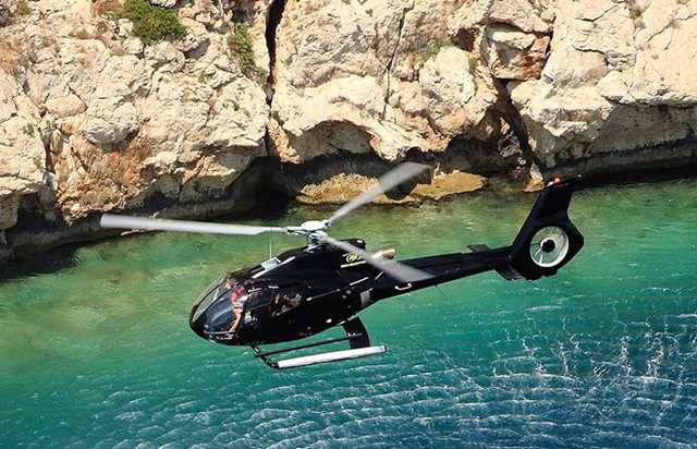 "panoramic flight "" the monaco"" - 45 minutes