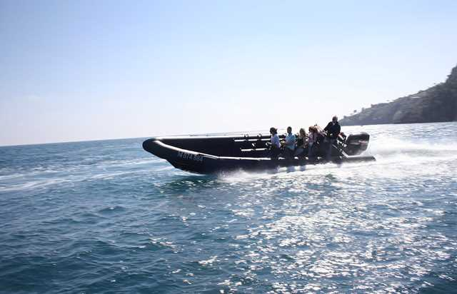 discover the nice coastline  to monaco by boat - 2h30