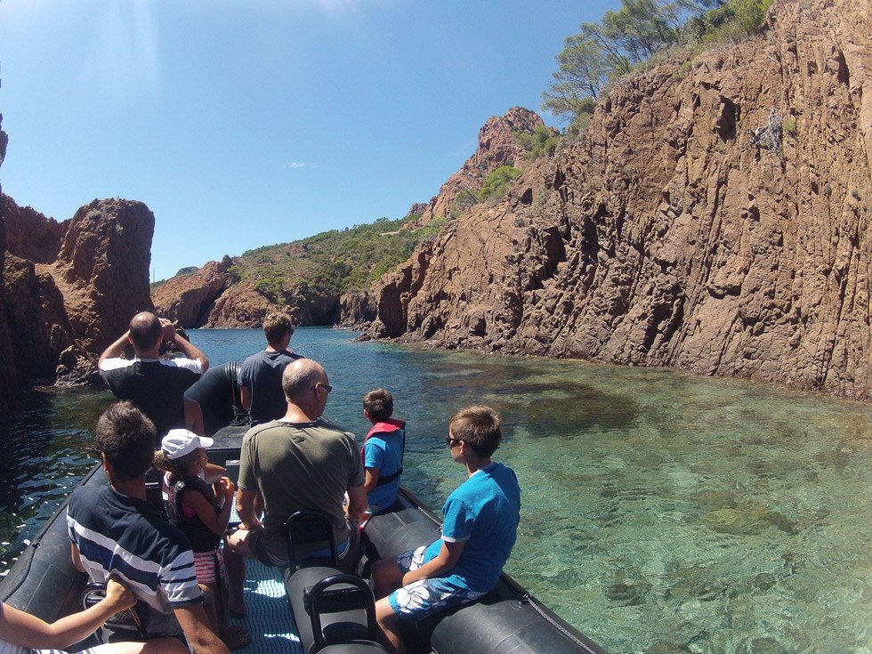 DISCOVERY THE ESTEREL COASTLINE BY BOAT - 2H30