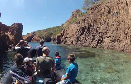 DISCOVER THE ESTEREL COASTLINE BY BOAT - 2H30