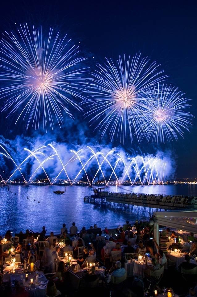 cannes firework festival face to the sea in cannes - 2h30