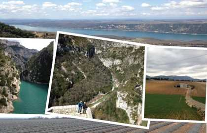 TOUR GORGES DU VERDON & MOUSTIER SAINTE MARIE