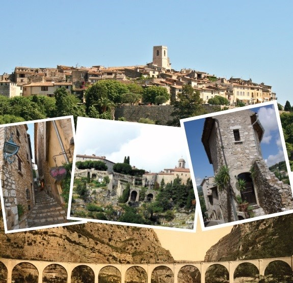 TOUR ST PAUL DE VENCE & GOURDON