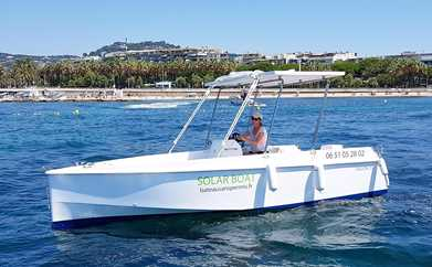 BOAT RENTAL WITHOUT LICENSE IN CANNES - DAY 9AM-6PM